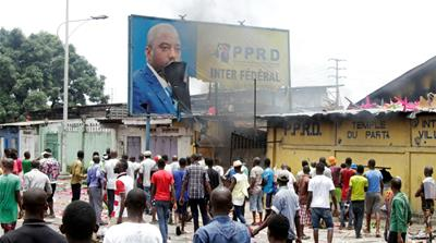 DR Congo opposition HQs torched after deadly protests
