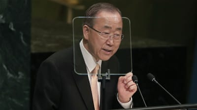 Ban Ki-moon sorry for UN role in Haiti cholera epidemic