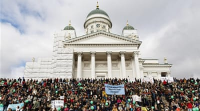 Finland: Tens of thousands march in anti-racism rallies