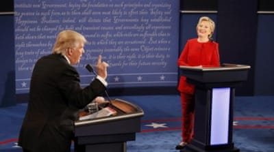 US election 2016: Clinton, Trump clash in first debate