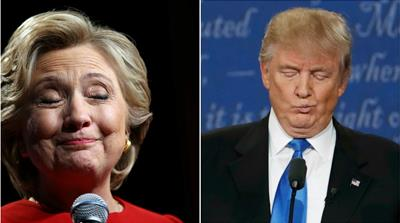 Clinton v Trump: How they said what they said
