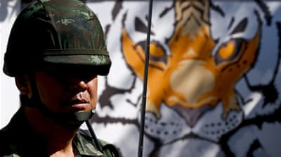 The government has given soldiers powers of arrest and detention [Jorge Silva/Reuters]