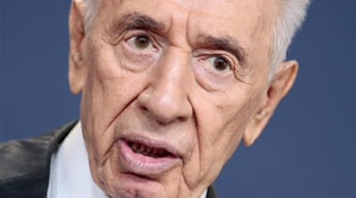 File: Peres' condition recently worsened following a major stroke two weeks ago that led to bleeding in his brain [EPA]