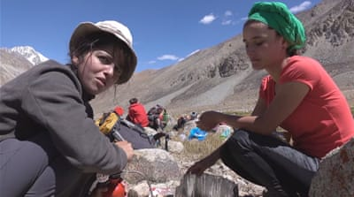 Tajikistan tourism: Women eye trekking-guide careers