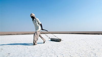 The salt farmers of India's Rann of Kutch marshes
