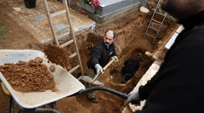 Old wounds open as Franco's mass graves loom over Spain's vote