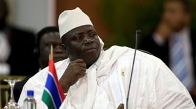 Jammeh has ruled the West African country for 22 years [File: Thierry Gouegnon/Reuters]