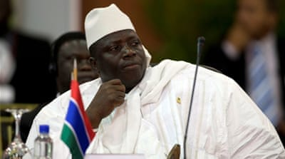 Yahya Jammeh has been in power for more than 20 years [Reuters]