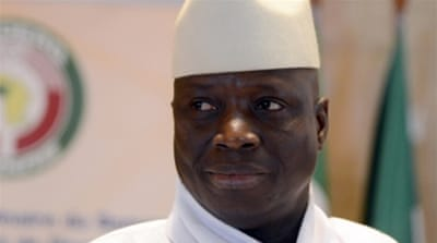 AU to stop recognising Gambia's Jammeh as president