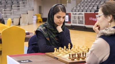 Like many others, Sara Khadem took up chess at an early age [Faras Ghani/Al Jazeera]