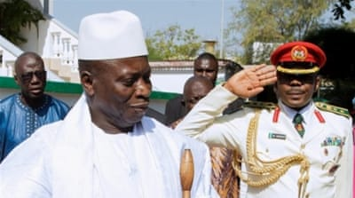 A former coup leader, Jammeh has ruled the West African state since 1994 [Reuters]