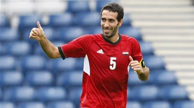Aboutrika led Egypt's national team for about a decade [Reuters]