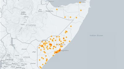 Al-Shabab attacks in Somalia (2006-2017)