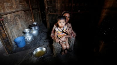 Rohingya camps in Bangladesh and Thailand, worlds apart