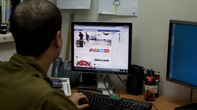 The hostilities between Israel and Hamas have found a new battleground: social media (AP Photo/Sebastian Scheiner)