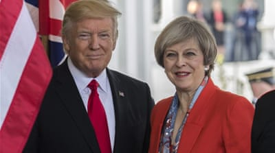Trump is in the way of Theresa May's global gamble