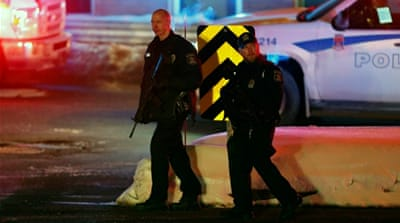 The attack sent ripples through the Muslim community across Canada [Mathieu Belanger/Reuters]