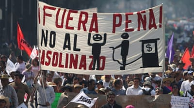 Gasolinazo protests: The symptom of a bigger crisis