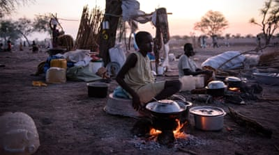 Seeking shelter in war-torn South Sudan