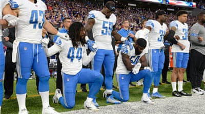 Taking a knee: NFL as a platform for race politics