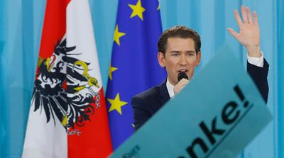 What is behind Austria's sharp turn to the right?