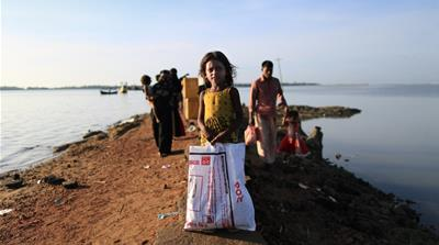 'No pictures, no words can explain Rohingya plight'
