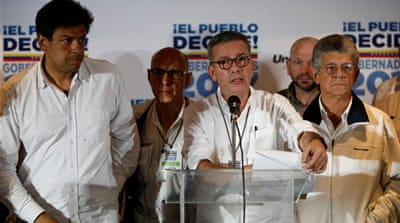 Venezuela opposition rejects election results
