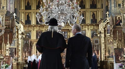 Putin and the 'triumph of Christianity' in Russia