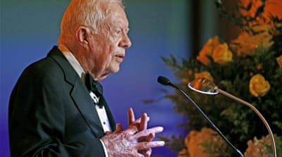 Jimmy Carter says I would go to North Korea: NYT