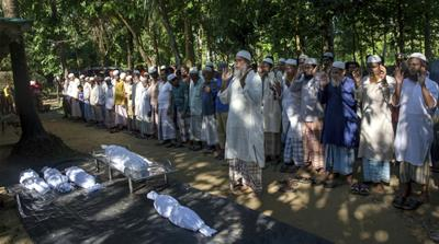 Rohingya running out of space to bury their dead
