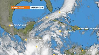 More tropical downpours hit the Caribbean
