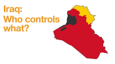 Updated maps of the middle east and africa al jazeera iraq war map who controls what gumiabroncs Gallery