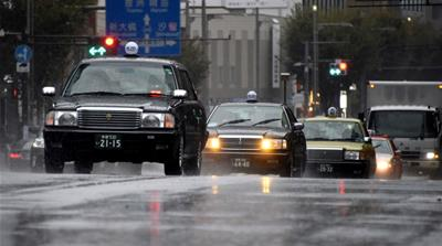 Tokyo hit by second tropical cyclone in a week