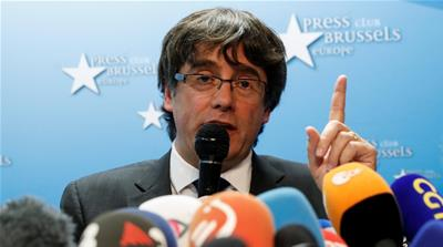 Ousted Catalonia leader Puigdemont 'not seeking asylum'