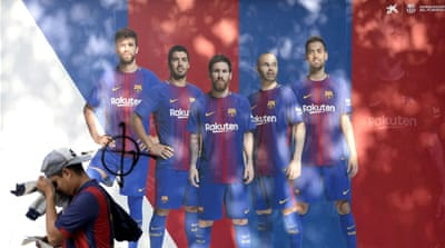How would a Catalan secession affect FC Barcelona?