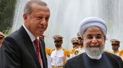 Kurdish secession tops Erdogan's agenda in Iran visit