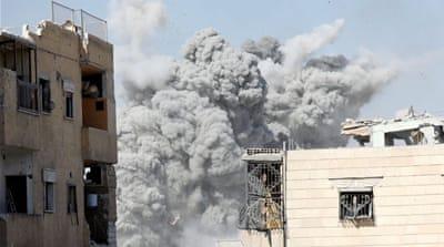 Syria worst vilence sine Aleppo