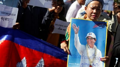 Cambodia steps up opposition crackdown as Rainsy return nears