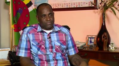 Skerrit: At the mercy of the international community