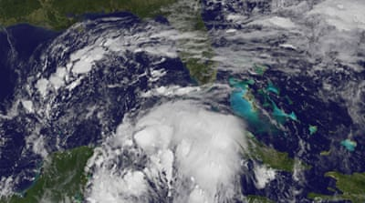 Nate strengthens to hurricane as it nears US Gulf Coast