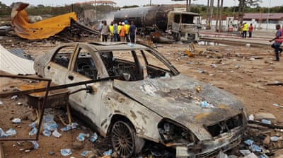 Ghana: Grief and anger after deadly gas station blasts