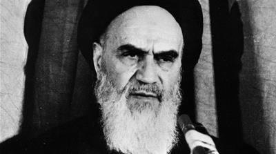 January 1979: Iranian leader, Ayatollah Imam Ruhollah Khomeini. (Photo by Asadollah Chahriari/Keystone/Getty Images) [Getty Images]