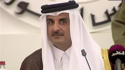 Qatar's emir: Siege countries do not want end to crisis