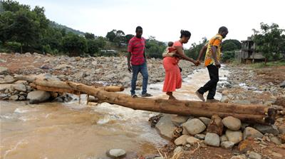 Freetown flood disaster was '90 percent man-made'