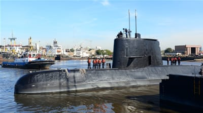 Argentina: No contact with submarine with 40 crew