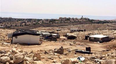 Entire Bedouin village faced with forced displacement