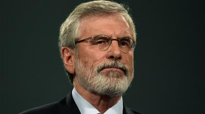 Gerry Adams to step down as Sinn Fein leader next year