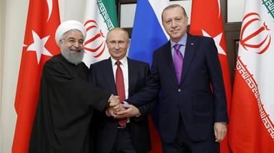 Russia, Iran and Turkey agree to hold 'Syrian congress'