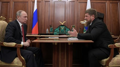 Russia's Chechnya leader says he is ready to resign