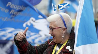 Scotland still wants independence
